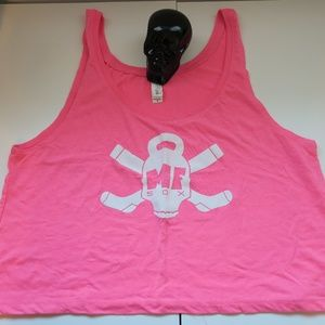 Crossfit Crop Top Tank - Small